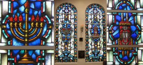 Incredible Stained Glass Windows Our Stained Glass Windows make our temple beautiful!Inside and out, you will love it!